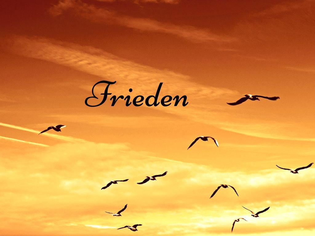 Warum es solange dauert, bis Frieden in unsere Herzen und unsere Welt einzieht.