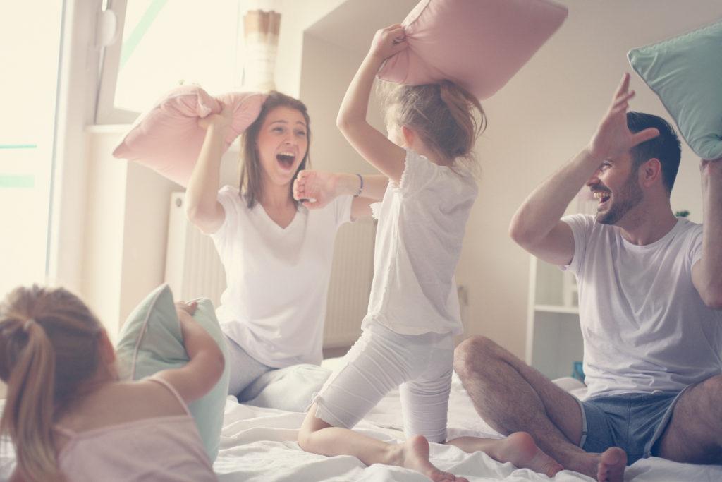 Mütter von der erschöpfung in die Lebensfreude