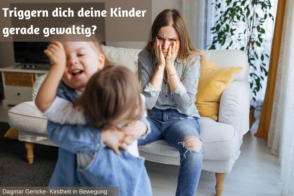 Read more about the article Triggern dich deine Kinder gerade gewaltig? Über elterliche Wut und ihre Ursachen.