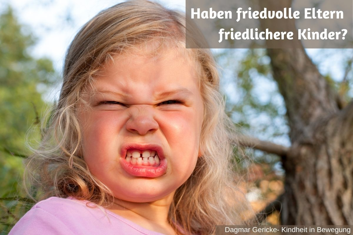 Read more about the article Haben friedvollere Eltern friedvolle Kinder?